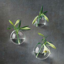 Väggvas glas
