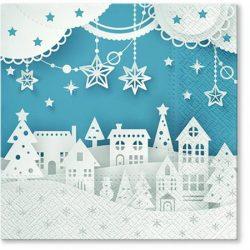 Servett Julstad