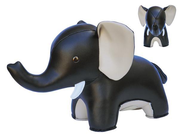 Zuny bokstöd elefant svart