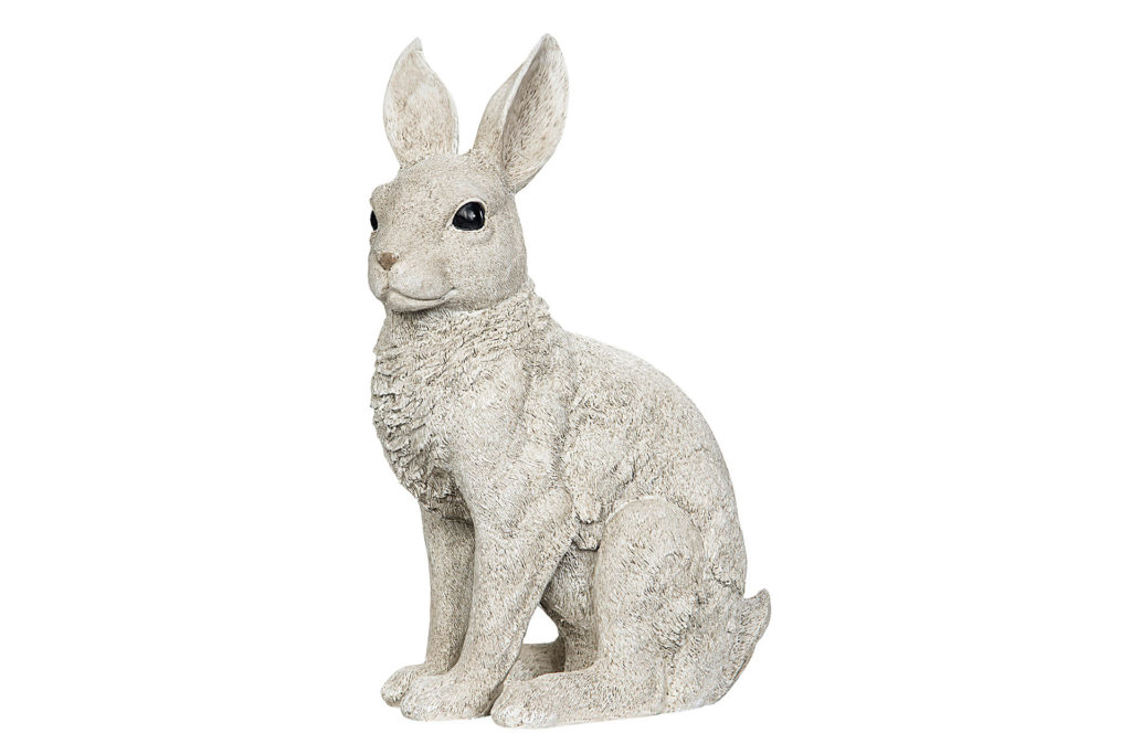 Naturvit kanin