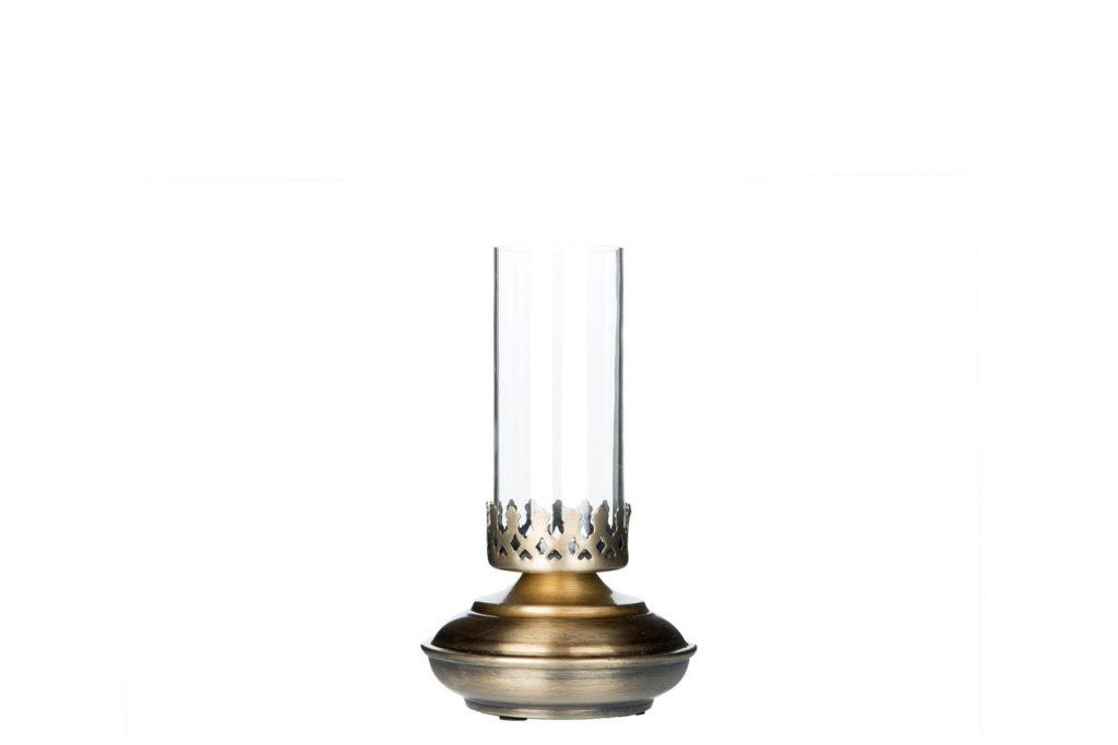 Värmeljuslampa Antik Mässing