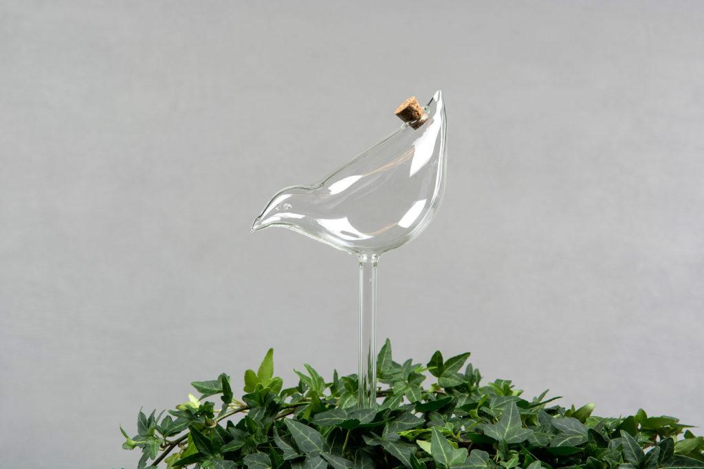 Bevattningsglas fågel