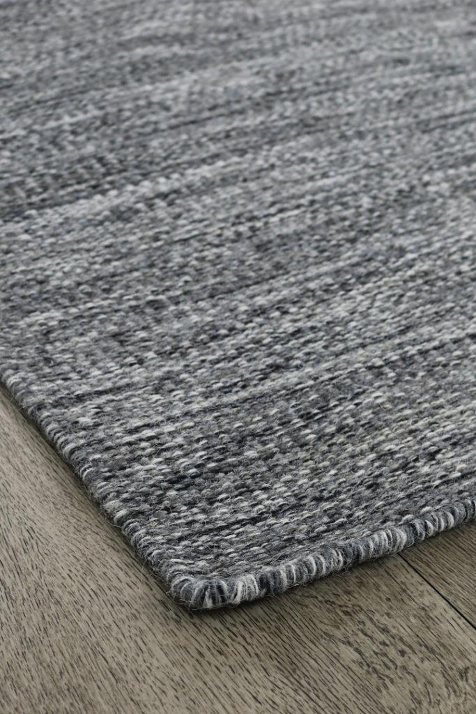 Matta ull grå