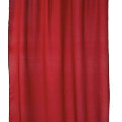 Duschdraperi Match röd 200x240